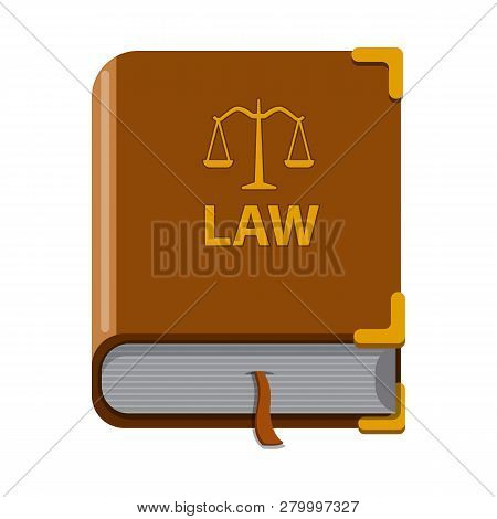 Vector Illustration Of Law And Lawyer Logo. Set Of Law And Justice Stock Vector Illustration.