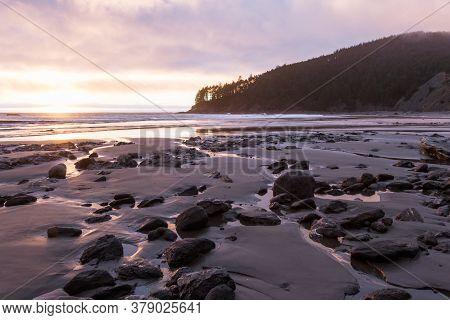 Sunset Form Hunters Cove
