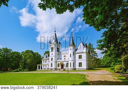 Image Of Old Palace In Stameriena, Latvia