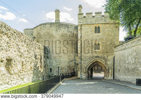 June 2020. London. The Tower Of London A Unesco World Heritage Site, London, England, Uk, Europe