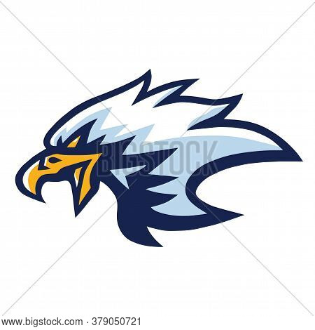 Eagle Mascot Logo Mascot Design Vector Illustration