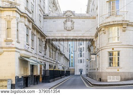 June 2020. London. A Street Scene In Covent Garden , London, Uk Europe