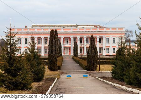 Ancient Palace Of The Polish Tycoons Potocki In Tulchin, Ukraine. Pototsky Palace Is A Monument Of A