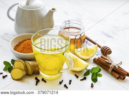 Energy Drink With Turmeric