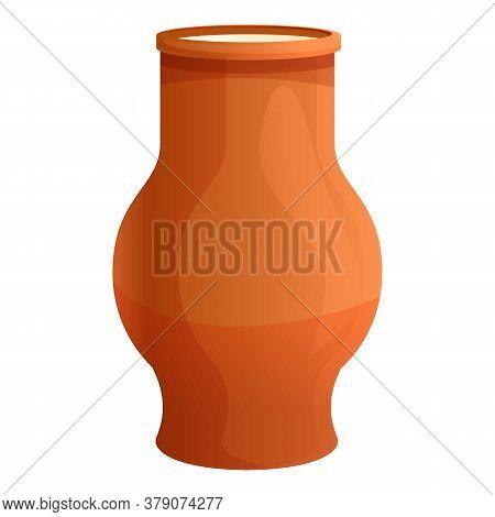 Farm Ceramic Milk Jug Icon. Cartoon Of Farm Ceramic Milk Jug Vector Icon For Web Design Isolated On
