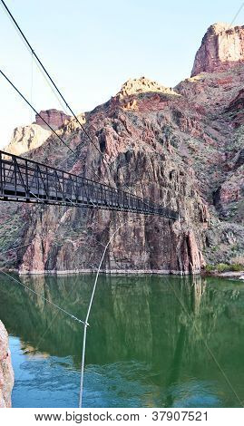 Bridge in Grand Canyon