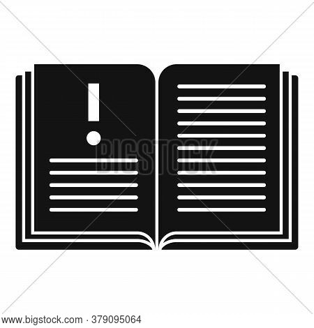 Open Innovation Book Icon. Simple Illustration Of Open Innovation Book Vector Icon For Web Design Is