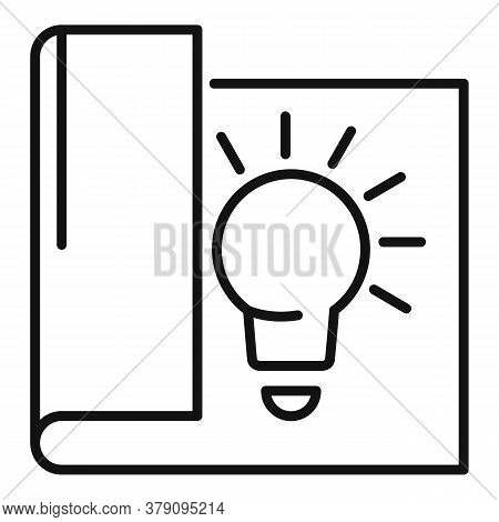 New Paper Innovation Icon. Outline New Paper Innovation Vector Icon For Web Design Isolated On White