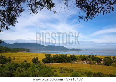View Cau Hai Lagoon Above Hill in Thua Thien Hue