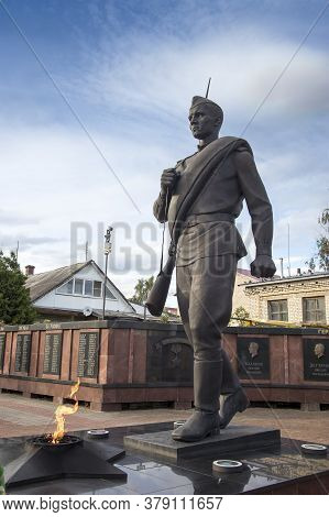 The Town Of Myshkin. A Memorial Complex Dedicated To The 60Th Anniversary Of Victory In The Great Pa