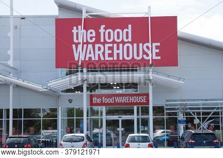The Food Warehouse Supermarket At West Quay Retail Park In Southampton, Hampshire In The Uk, Taken O