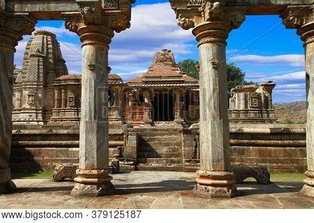 Ancient Sahastra Bahu (Sas-Bahu) Temple at Nagda, Udaipur, Rajasthan, India.