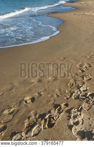 Blackmans Bay Beach On A Sunny Winter Day In South Hobart In Tasmania, Australia