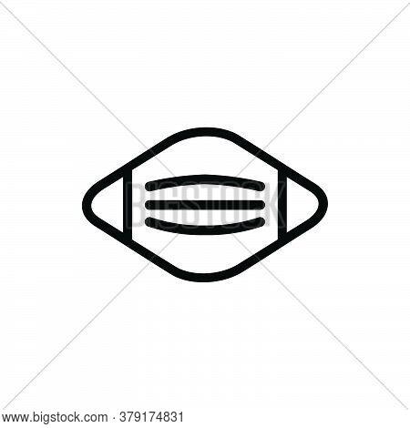 Mask Icon Isolated On White Background. Mask Icon Trendy And Modern Mask Symbol For Logo, Web, App,