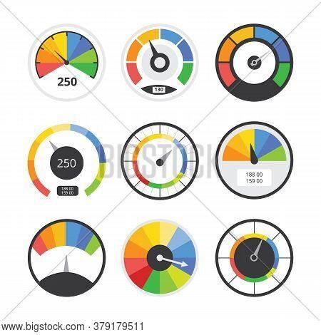 Speedometer Set - Speed Measurement Indicator Tool Collection