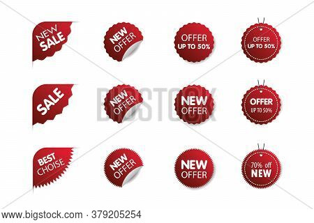 Sale Label Collection. Sale Icons. Sale Tags. Big Sale Special Offer. End Of Season Special Offer Ba