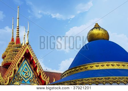 Roof of Church in Buddhism