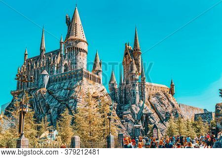 World Famous Park Universal Studios In Hollywood.