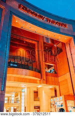 Kodak Theater (dolby) Where The Annual Academy Award Is Presented.