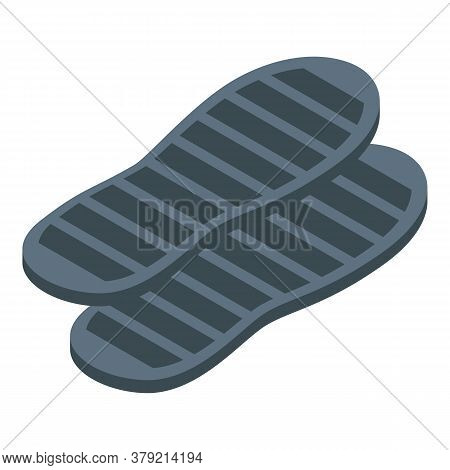 Shoe Repair Insoles Icon. Isometric Of Shoe Repair Insoles Vector Icon For Web Design Isolated On Wh