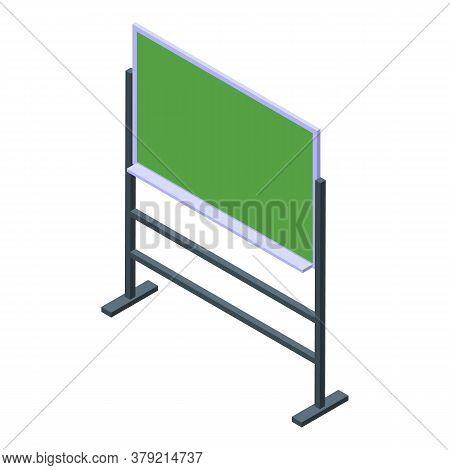 Inclusive Education Lesson Board Icon. Isometric Of Inclusive Education Lesson Board Vector Icon For