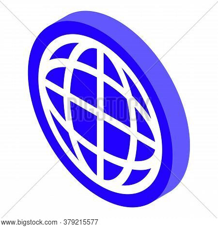 Global Breakthrough Icon. Isometric Of Global Breakthrough Vector Icon For Web Design Isolated On Wh