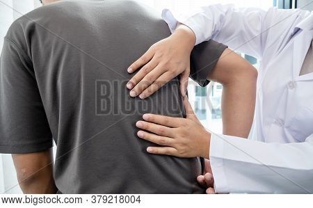 Male Patients Consulted Physiotherapists With Low Back Pain For Examination And Treatment. Rehabilit
