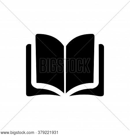 Open Book Icon Vector. Book Icon Isolated On White Background. Book Icon Simple And Modern.