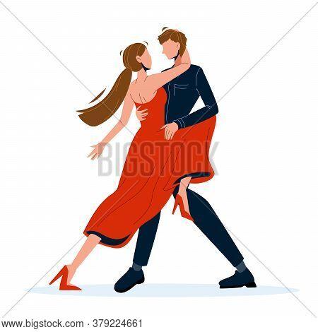 Tango Dance Dancing Couple Man And Woman Vector