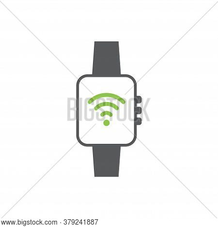 Smartwatch Icon Design Template Vector Isolated Illustration