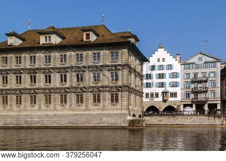 Zurich Town Hall Was Built In 1694-1698, Zurich, Switzerland