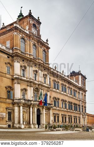Ducal Palace Of Modena Is A Baroque Palace In Modena, Italy. It Was The Residence Of The Este Dukes