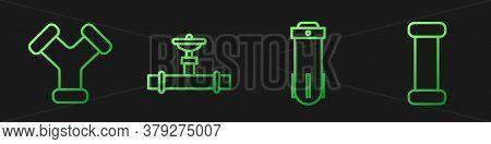 Set Line Water Filter, Industry Metallic Pipe, Industry Pipe And Valve And Industry Metallic Pipe. G