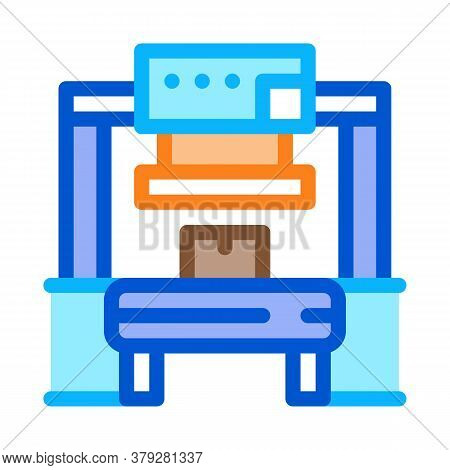 Manufacturing Factory Tool Icon Vector. Manufacturing Factory Tool Sign. Color Symbol Illustration