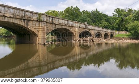 The Monocacy Aqueduct Is The Largest Aqueduct On The Chesapeake And Ohio Canal, Crossing The Monocac