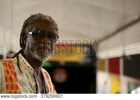 Salvador, Bahia / Brazil - October 29, 2008: Antonio Carlos Dos Santos, Better Known As Vovo, Founde