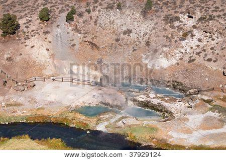 Hot Creek Geothermal Site