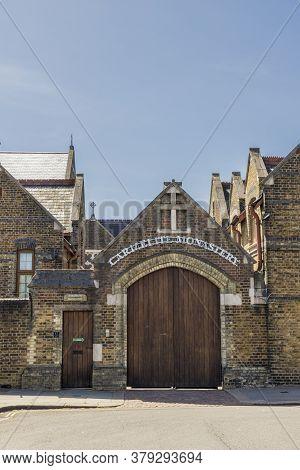 June 2020 London. Carmelite Monastery, Notting Hill, London, England United Kingdom