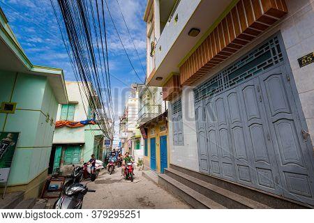 Vietnam Ocean Road From Mui Ne To Phan Rang