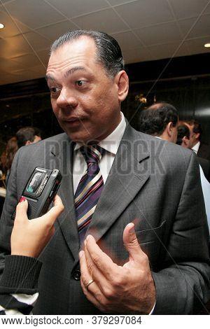 Salvador, Bahia / Brazil - August 21, 2006: Joao Henrique De Barradas Carneiro, Former Mayor Of The