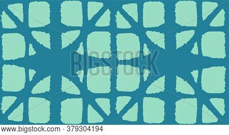 Japanese Tie Dye Seamless Pattern. Soft Shape Curve Pattern Premium Japanese Clothes Texture. Glamou