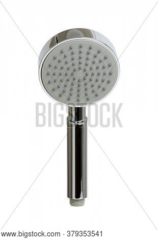 Shower head isolated on white background.