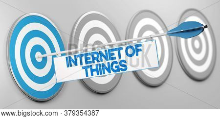 Internet of things as a technology concept (3d rendering)