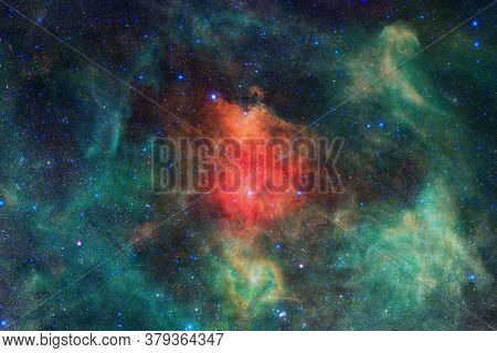 Beautiful Galaxy Somewhere In Deep Space. Cosmic Wallpaper. Elements Of This Image Furnished By Nasa