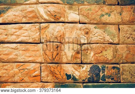 Berlin, Germany: Wild Lion From Ishtar Gate Of Babylon, Constructed In About 575 Bc. On Septemper 2,