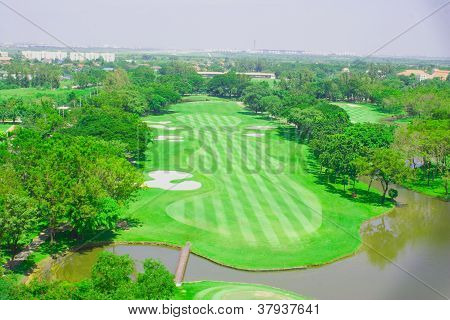 Golf Course In The Village.2