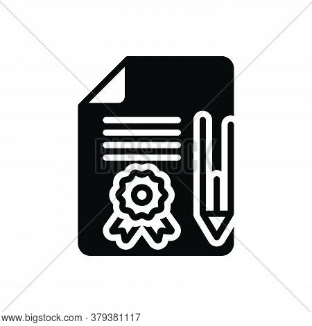 Black Solid Icon For Legal-documents Legal Documents Agreement Contract Legal-paper Pleadings Justic