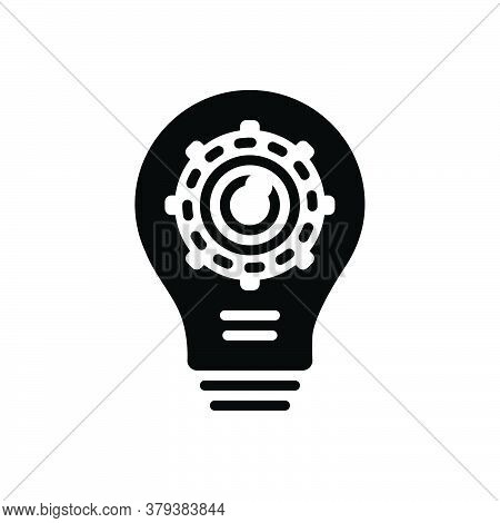 Black Solid Icon For Creative-production Creative Production Innovative Inventive Manufacture Techno