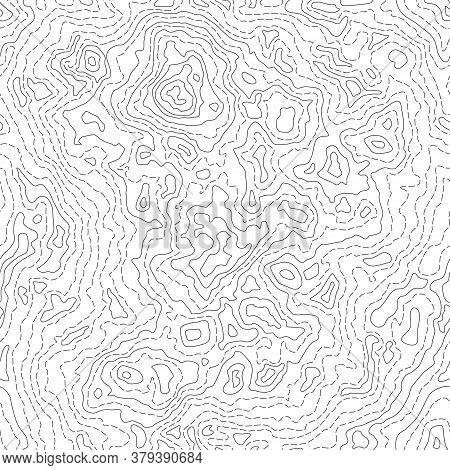 Seamless Texture Or Pattern Of Topographic Map 2