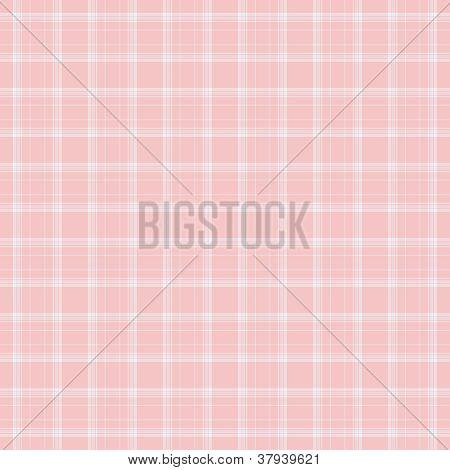 Dainty Baby Pink Plaid